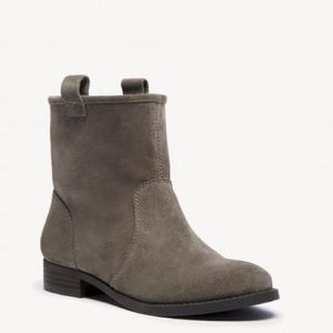 Sole Society Genuine Leather and Suede Booties
